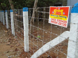 Agricultural Farms Fencing using barbed wire in Kerala, Palakkad, Ernakulam, Calicut