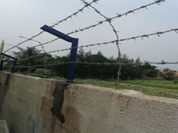 Home boundary lines fencing using barbed wire in Karnataka, Bangalore, Mysore,Goa