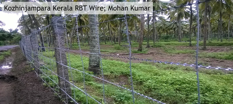 RBT Barbed wire fencing contractors in india