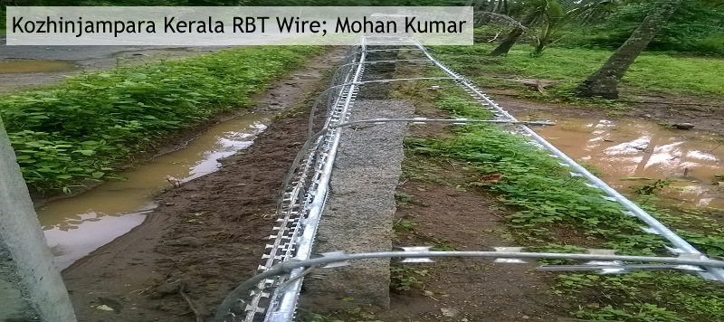 RBT Barbed wire fencing material manufacturers, suppliers, exporters in india