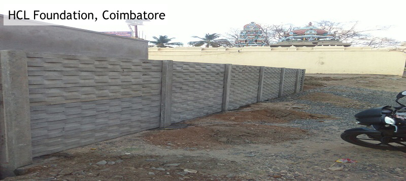 Ready Made Wall Compound : Precast wall fencing contractors